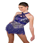That's It Plum Perfomence Dance Costume