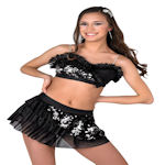Shake Black performance costume