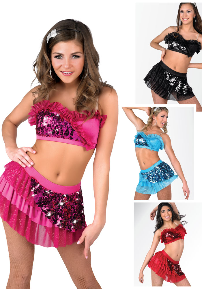 Shake Latin Dance Costume